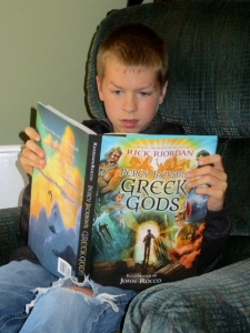 Percy Jackson's Greek Gods, reluctant readers, books for boys, middle school, sixth grade, 6th grade, chapter books